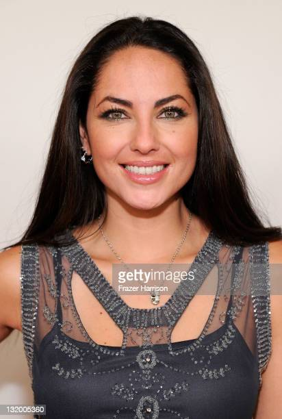 Actress Barbara Mori arrives at the 2011 Latin Recording Academy's Person of the Year honoring Shakira at Mandalay Bay Resort Casino on November 9...