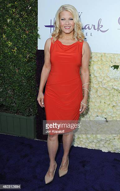 Actress Barbara Niven arrives at 2015 Summer TCA Tour Hallmark Channel and Hallmark Movies And Mysteries on July 29 2015 in Beverly Hills California