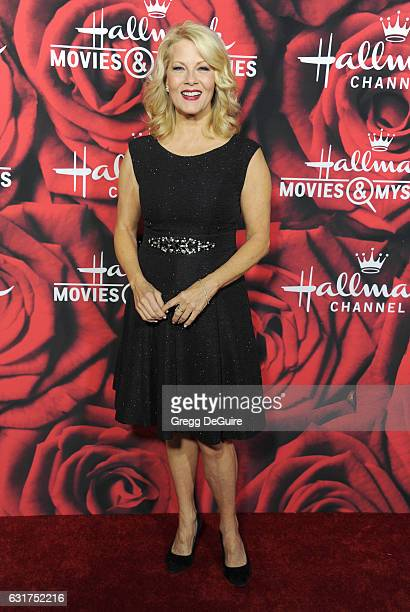 Actress Barbara Niven arrives at Hallmark Channel And Hallmark Movies And Mysteries Winter 2017 TCA Press Tour at The Tournament House on January 14...