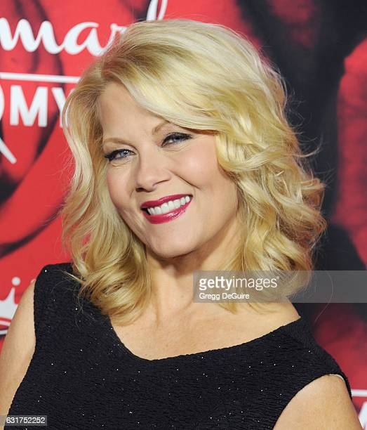 Actress Barbara Niven arrives at Hallmark Channel And Hallmark Movies And Mysteries Winter 2017 TCA Press Tour at The Tournament House on January 14,...