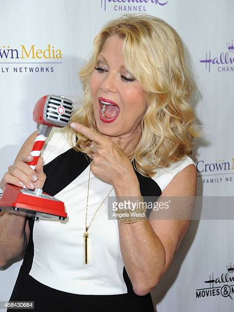 Actress Barbara Niven arrives at Hallmark Channel's annual holiday event premiere screening of Northpole at La Piazza Restaurant on November 4 2014...