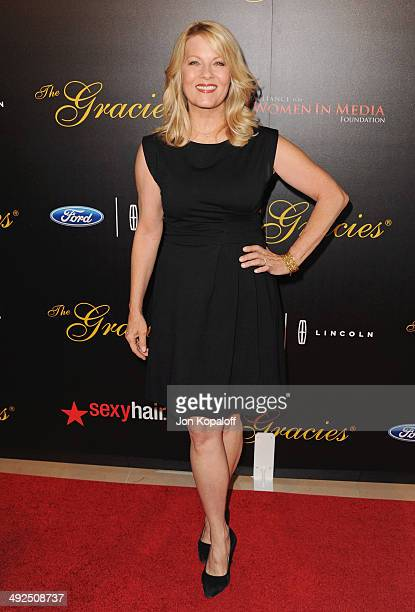 Actress Barbara Niven arrives at the 39th Annual Gracie Awards at The Beverly Hilton Hotel on May 20 2014 in Beverly Hills California