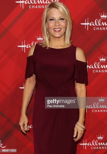 Actress Barbara Niven attends the Hallmark Channel's Countdown To Christmas Celebration and VIP screening of Christmas At Holly Lodge at The Grove on...