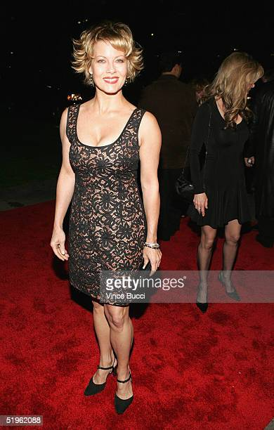Actress Barbara Niven attends the Hallmark Channel's TCA Press Tour party on January 13 2005 at The Ebell Club in Los Angeles California