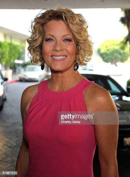 Actress Barbara Niven of Moonlight Mistletoe arrives at the 2008 Summer Television Critics Association Press Tour for Hallmark held at the Beverly...