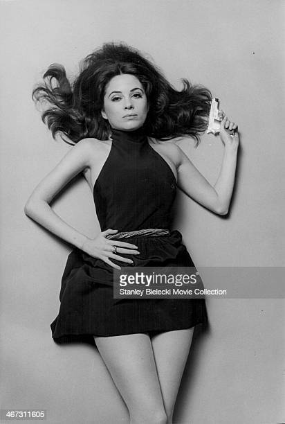 Actress Barbara Parkins in a promotional still from the movie 'The Kremlin Letter' 1970