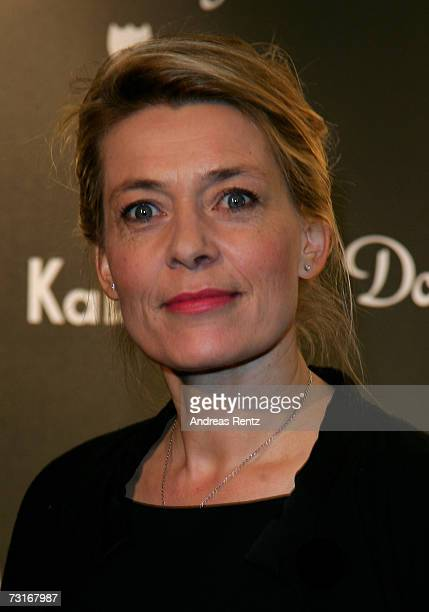 Actress Barbara Rudnik attends the Dom Perignon vernissage at the KaDeWe on January 31 2007 in Berlin Germany