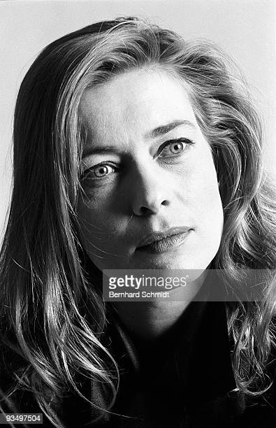 Actress Barbara Rudnik is seen during a photo session on October 14, 1990 in Munich, Germany.