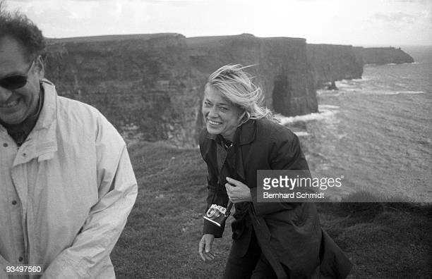 May 2003: Actress Barbara Rudnik is seen during a visit to Ireland due to a friends wedding in May 2003.