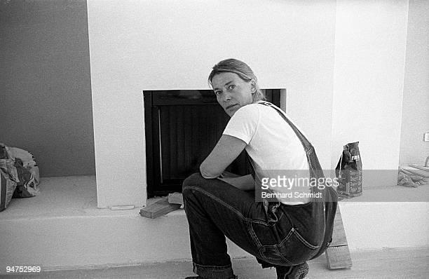 September 24: Actress Barbara Rudnik is seen in her House in Ammerland in September, 2005 in Ammerland, Germany.