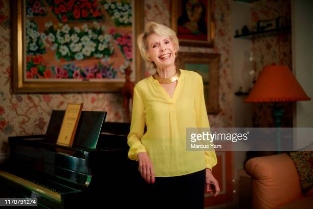Actress Barbara Rush is photographed for Los Angeles Times on August 16 2019 in Beverly Hills California PUBLISHED IMAGE CREDIT MUST READ Marcus...