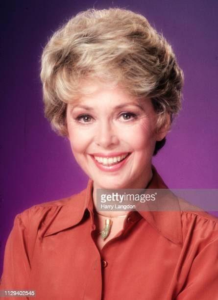 LOS ANGELES 1982 actress Barbara Rush poses for a portrait in Los Angeles California