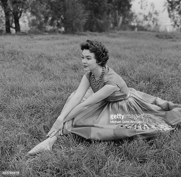Actress Barbara Rush poses for a portrait in Los AngelesCA