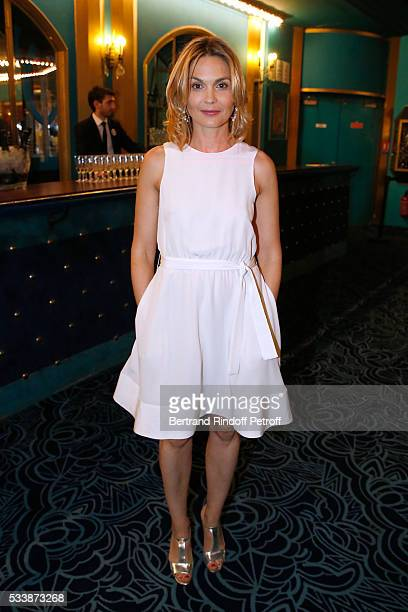 Actress Barbara Schulz attends La 28eme Nuit des Molieres on May 23 2016 in Paris France