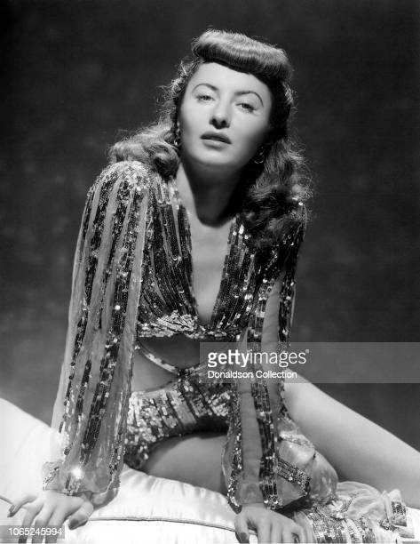 Actress Barbara Stanwyck in a scene from the movie Ball of Fire