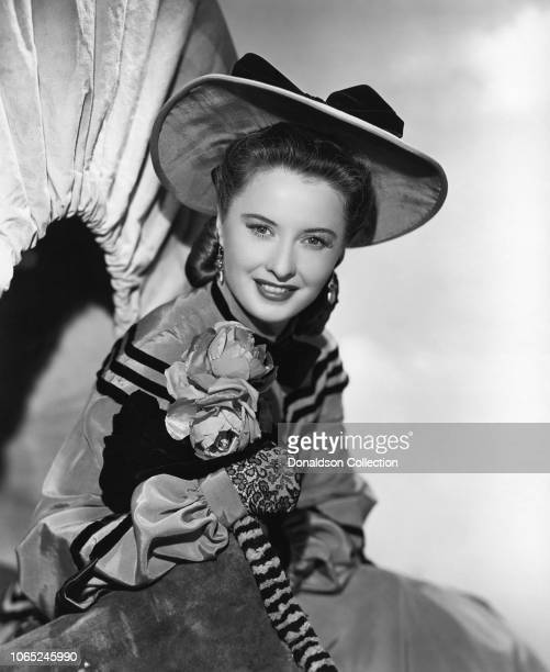 Actress Barbara Stanwyck in a scene from the movie California
