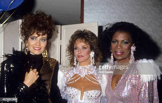 Actress Barbara Stock actress Lenore Kasdorf and actress Roxie Roker attend A Carousel of Caring Fourth Annual Celebrity Fashion Show to Benefit the...