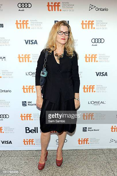 Actress Barbara Sukowa attends the 'Hannah Arendt' Premiere during the 2012 Toronto International Film Festival at The Elgin on September 11 2012 in...