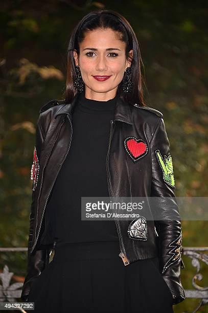 Actress Barbara Tabita attends 'Belli Di Papa'' Photocall on October 26, 2015 in Milan, Italy.