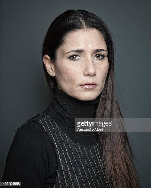 Actress Barbara Tabita is photographed for Self Assignment on November 25 2015 in Turin Italy