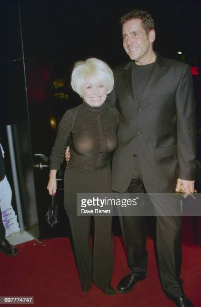 Actress Barbara Windsor and television presenter Dale Winton at the Elle Magazine Style Awards at the Home Club London 21st September 1999
