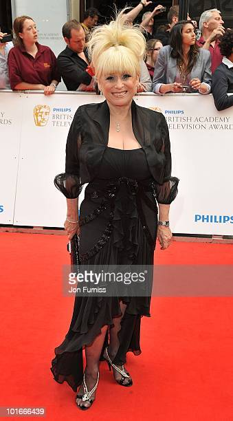 Actress Barbara Windsor attends the Philips British Academy Television Awards at London Palladium on June 6 2010 in London England