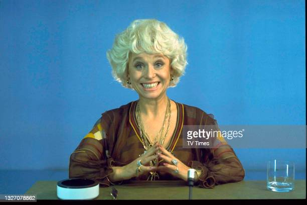 Actress Barbara Windsor during an appearance on game show Celebrity Squares, circa 1976.