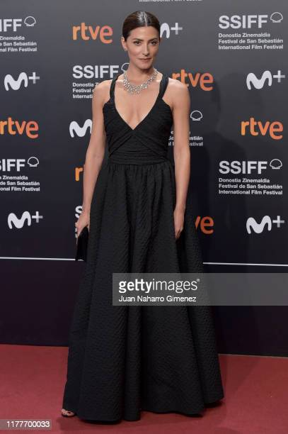 Actress Barbarie Lennie attends the red carpet on the closure day of 67th San Sebastian International Film Festival on September 28, 2019 in San...