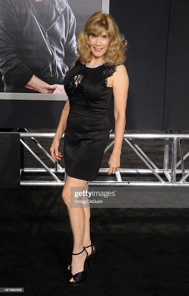 Actress Barbi Benton arrives at the premiere of Warner Bros. Pictures' 'Creed' at Regency Village Theatre on November 19, 2015 in Westwood, California.
