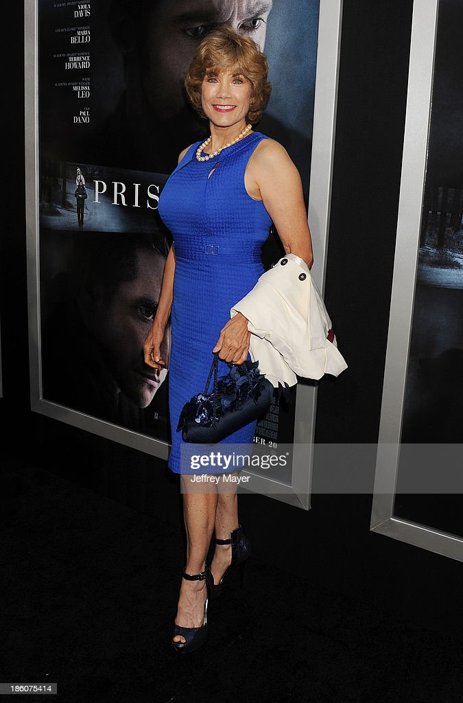 Actress Barbi Benton arrives at the 'Prisoners' - Los Angeles Premiere at the Academy of Motion Picture Arts and Sciences on September 12, 2013 in Beverly Hills, California.