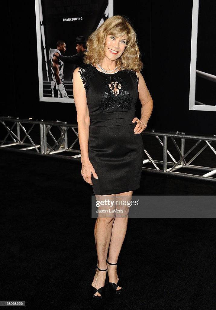 Actress Barbi Benton attends the premiere of 'Creed' at Regency Village Theatre on November 19, 2015 in Westwood, California.