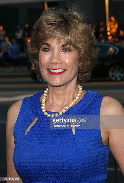 Actress Barbi Benton attends the premiere of Warner Bros Pictures' Prisoners at the Academy of Motion Picture Arts and Sciences on September 12 2013...