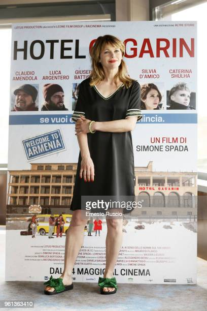 Actress Barbora Bobulova attends a photocall for 'Hotel Gagarin' at Hotel Eden on May 22 2018 in Rome Italy