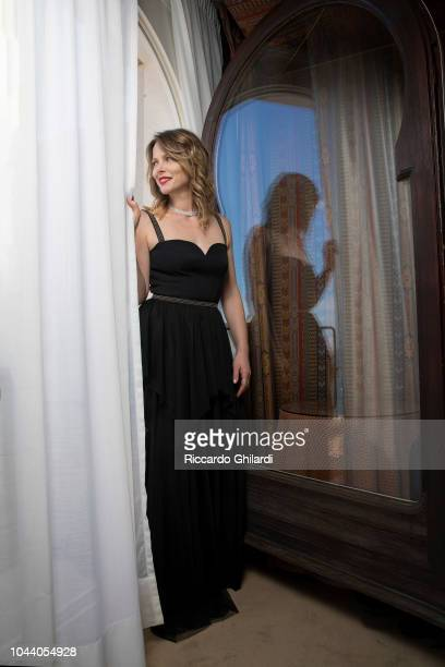Actress Barbora Bobulova is photographed for Self Assignment on September 2018 in Venice Italy