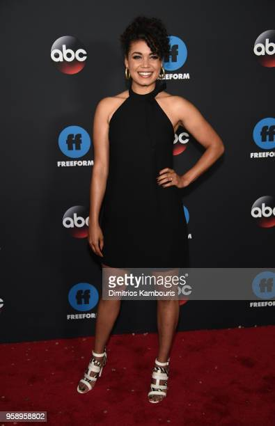 Actress Barrett Doss attends during 2018 Disney, ABC, Freeform Upfront at Tavern On The Green on May 15, 2018 in New York City.