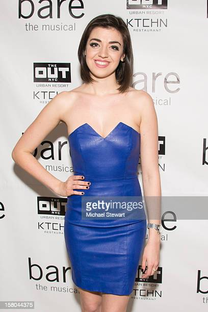 Actress Barrett Wilbert Weed attends BARE The Musical Opening Night After Party at Out Hotel on December 9 2012 in New York City