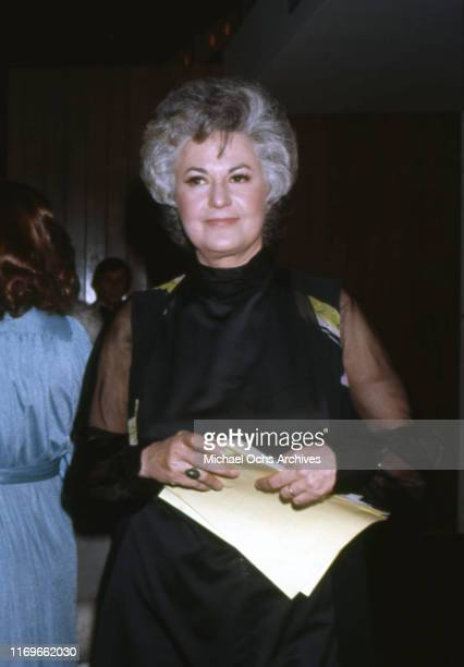 Actress Bea Arthur attends an event circa 1975 in Los Angeles California