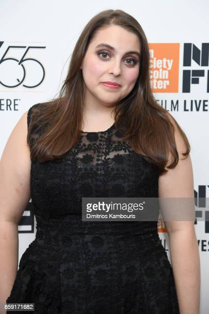 Actress Beanie Feldstein attends 55th New York Film Festival screening of 'Lady Bird' at Alice Tully Hall on October 8 2017 in New York City