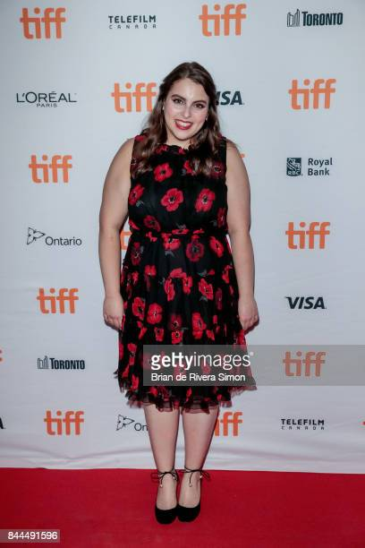 Actress Beanie Feldstein attends the 'Lady Bird' premiere during the 2017 Toronto International Film Festival at Ryerson Theatre on September 8 2017...