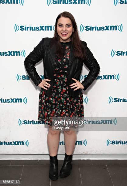 Actress Beanie Feldstein visits the SiriusXM Studios on November 20 2017 in New York City
