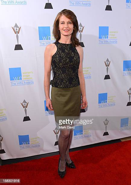 Actress Beata Pozniak Daniel attends The 14th Annual Women's Image Network Awards at Paramount Theater on the Paramount Studios lot on December 12,...