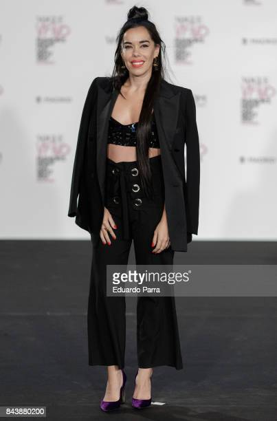 Actress Beatriz Luengo attends the 'Vogue fashion's Night Out' photocall at Ortega y Gasset street on September 7 2017 in Madrid Spain