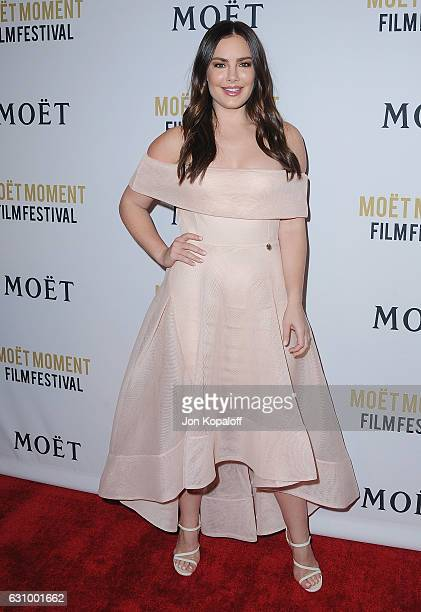 Actress Beau Dunn arrives at Moet And Chandon Celebrates 2nd Annual Moet Moment Film Festival And Kick Off Of Golden Globes Week at Doheny Room on...