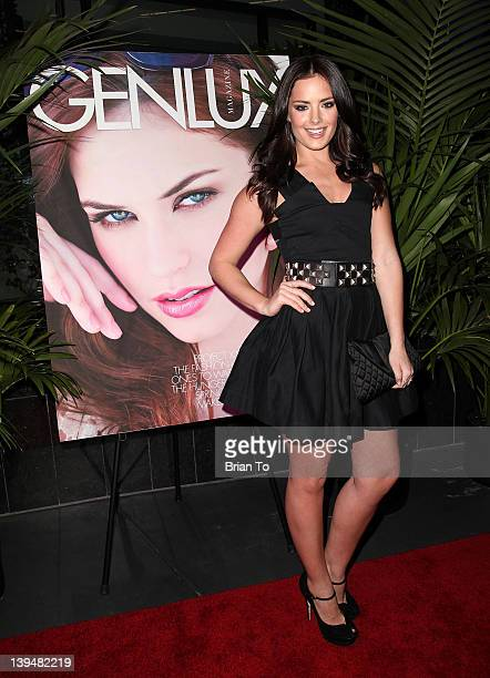 Actress Beau Dunn attends BB Forever Brigitte Bardot The Legend photo exhibition opening hosted by Genlux at Sofitel Hotel on February 21 2012 in Los...