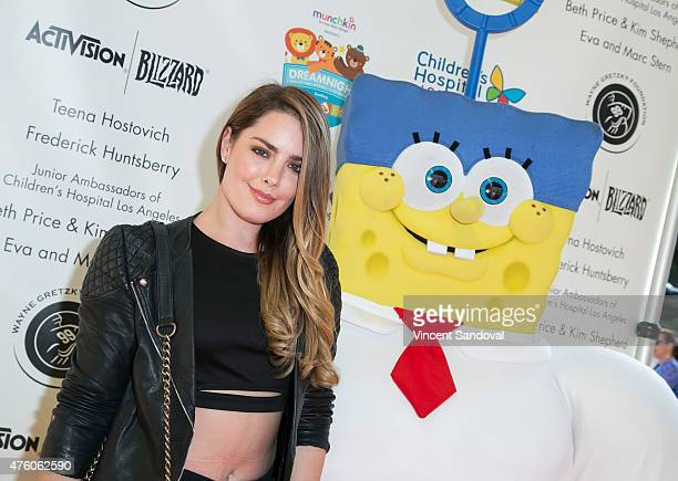 Actress Beau Dunn attends Dreamnight at the Los Angeles Zoo on June 5 2015 in Los Angeles California