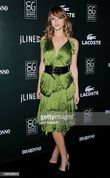 Actress Beau Garrett arrives at the 13th Annual Costume Designers Guild Awards at The Beverly Hilton hotel on February 22 2011 in Beverly Hills...