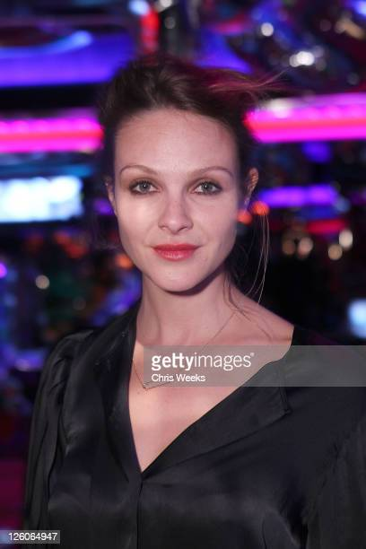Actress Beau Garrett attends Stella McCartney Crystal's Las Vegas Store Opening Party At The Peppermill on February 15 2011 in Las Vegas Nevada