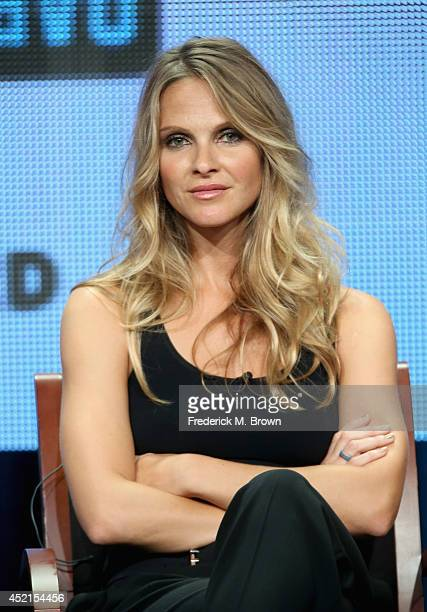 Actress Beau Garrett speaks onstage at the 'Girlfriends' Guide to Divorce' panel during the NBCUniversal Bravo portion of the 2014 Summer Television...