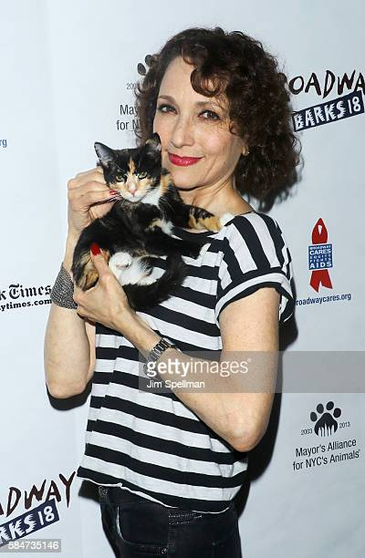 Actress Bebe Neuwirth attends the 18th Annual Broadway Barks at Shubert Alley on July 30 2016 in New York City