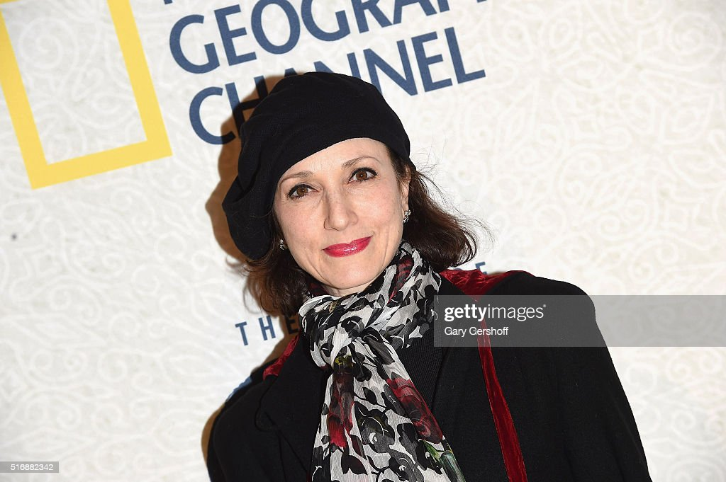 Actress Bebe Neuwirth attends the National Geographic 'The Story Of God' with Morgan Freeman world premiere at Jazz at Lincoln Center on March 21, 2016 in New York City.
